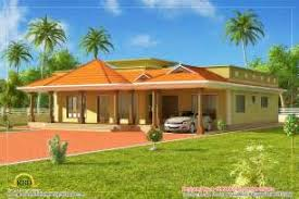Single Floor House Designs Kerala by Small Kerala Style Beautiful House Rendering Kerala Home