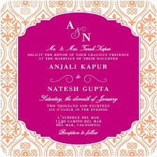 indian wedding invitation cards usa indian wedding cards printed in usa invitation sle marvelous