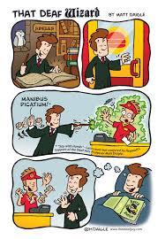 harry potter series u201d cartoon parody deaf cartoonist