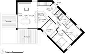 plan de maison en v plain pied 4 chambres délicieux plan de maison plain pied 4 chambres 2 plan maison
