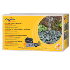 si e de jardin laguna water kit from laguna ponds