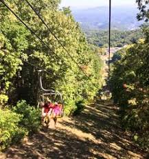 Chair Lift In Gatlinburg Tn Many People Were Surprised Thrilled In Fact By The Side Effect