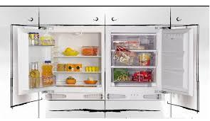 under cabinet fridge and freezer iberna integrated under counter hul136 1 fridge huz107 1 freezer pack