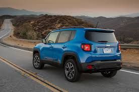 new jeep renegade 2015 jeep renegade blue rear exterior profile 736 cars