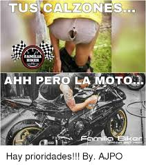 Biker Meme - tu alzo ones familia biker ahh pero la motola ikcr vwrnna get hay
