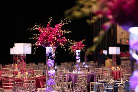 Purple Centerpieces Wedding Flowers Cleveland Centerpieces Plantscaping And Blooms