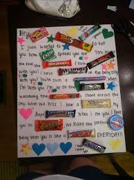 25 unique candy birthday cards 25 unique candy letters ideas on candy card boyfriend