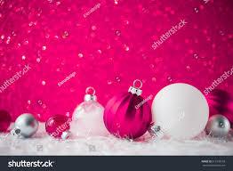 silver white ornaments on magenta stock photo 513176518