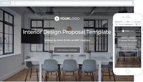 free interior design proposal template better proposals