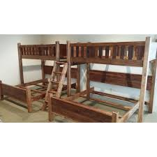 Sleigh Bunk Beds Barnwood Style Loft Bunk Bed With Or King Bed Below