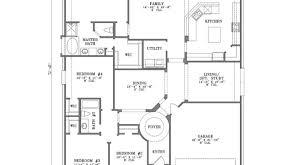 2 bedroom single storey house plan stone cottage house floor plans
