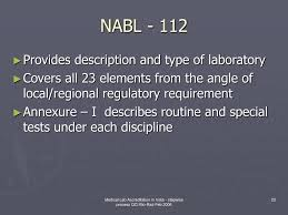 28 nabl iso 15189 2012 manual ppt nabl accreditation