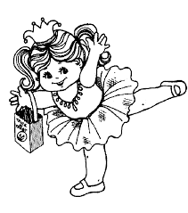 ballerina coloring pages coloringpagehub