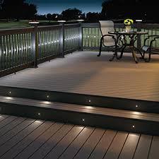Trex Lighting Deck Lighting Niece Lumber