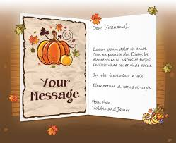 what to write in a business thanksgiving card festival collections