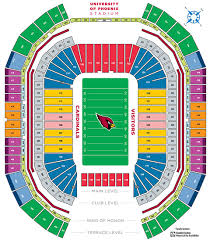 Map Of Greater Phoenix Area by Overview And Map To University Of Phoenix Stadium In Az