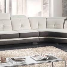 cuir center canape angle canapé d angle arrondi cuir center canapé idées de décoration