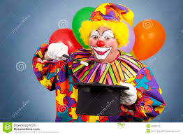 clown show for birthday party birthday clown magic show royalty free stock photography image