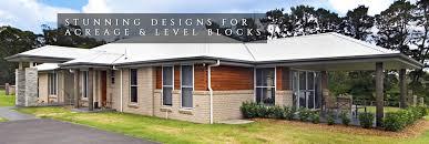 home designs acreage qld salisbury mkiii skillion roof home design tullipan homes