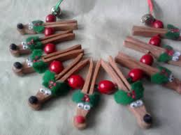 wooden clothespin reindeer necklace occasions and holidays