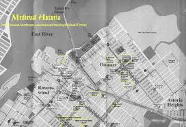 Astoria Oregon Map by Internet History Sourcebooks Project