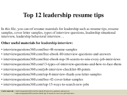 leadership resume exles leadership skills resume exles leadership skills resume