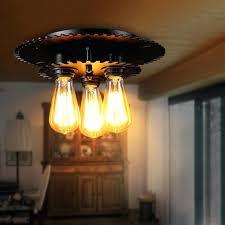 3 Bulb Ceiling Light Fixture 3 Bulb Flush Mount Ceiling Light Fixture Ceiling Medallions