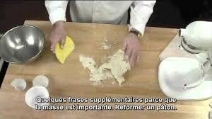 fraiser en cuisine pâte brisée fraisage