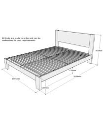 Dimensions Of King Bed Frame Size Bed Frame Dimensions Malaysia In Calmly A King Size Bed