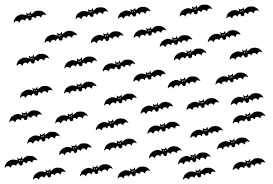 printable bats for halloween holidays and observances
