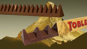 mondelez changes toblerone shape to make it weigh less
