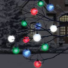 cordless outdoor lighted ornaments the green