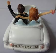 car cake toppers cool wedding cake toppers engagement party and groom in the