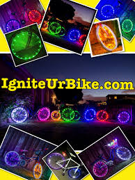 Cool Led Lights by Cool Vibrant Pictures Of Led Lights For Your Bike Spokes Bike