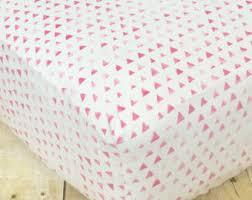 triangle crib sheet etsy