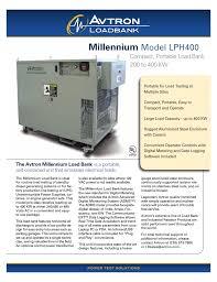 28 avtron load bank k580 manual lpc 100 rent avtron lpc 100