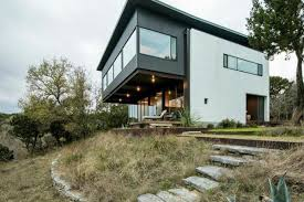 Industrial Modern House Own A Sleek Modern House In The Country For 725k Curbed Austin