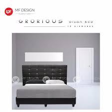 mf design mf design grorious size divan bed frame lazada malaysia