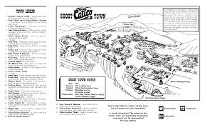 Map Of Cambria Ca Calico Ghost Town Old Mining Town In Yermo California Through
