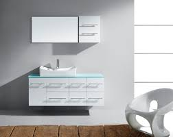 55 Inch Bathroom Vanities by Virtu Usa Ceanna Single Sink 56