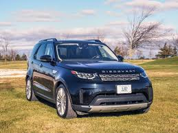blue land rover discovery 2017 land rover discovery hse luxury td6 review canadian auto review