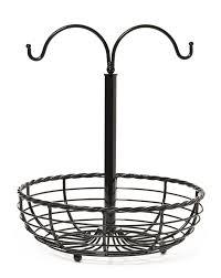 metal fruit basket gourmet basics by mikasa metal rope fruit basket with