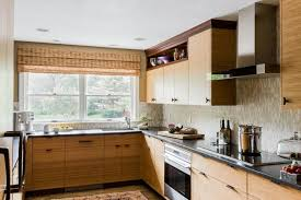 kitchen style brown cabinets asian modern kitchen bamboo flooring