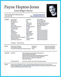 Ats Friendly Resume Template Sample Actor Resume Best 25 Acting Resume Template Ideas On