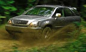 land rover lr3 off road lexus rx300 comparison tests comparisons car and driver