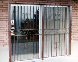 Patio Door Gate Secure Patio Doors Grill Security Door Ideas