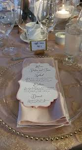 Diy Wedding Menu Cards Diy Wedding Menu Cards Do It Your Self