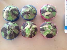 camo cupcakes u2013 inspired by rosanna pansino from nerdy nummies