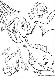 finding nemo coloring picture xanders room finding