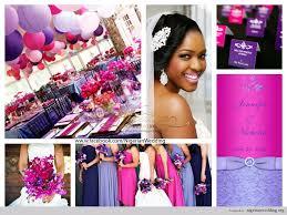 colour themes for nigerian wedding wedding fuchsia pink purple and lavender color scheme 3jpg cakepins